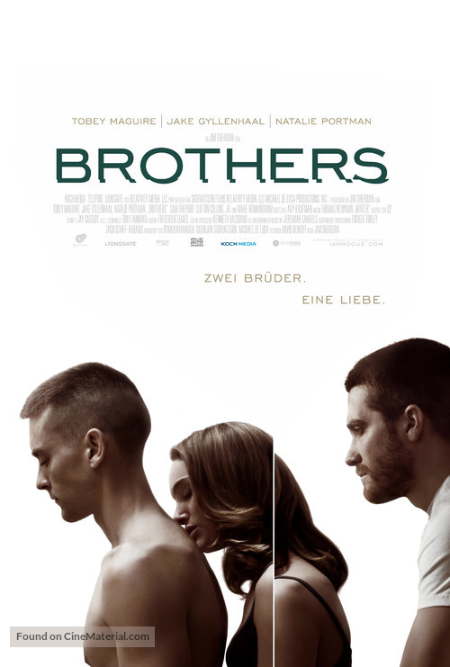 Brothers - German Movie Poster