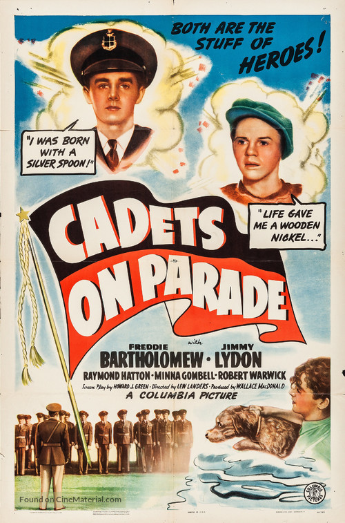 Cadets on Parade - Movie Poster