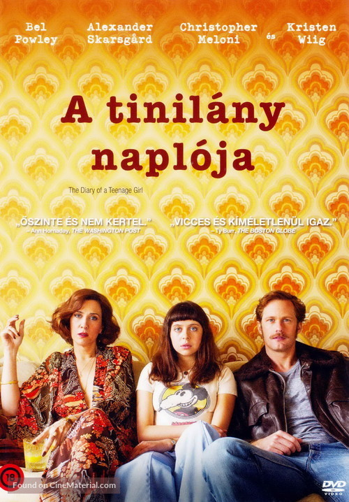 The Diary of a Teenage Girl - Hungarian Movie Cover