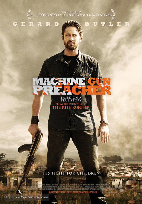 Machine Gun Preacher Dutch Movie Poster