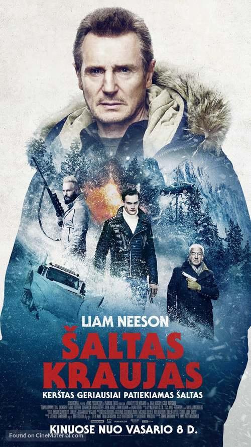 Cold Pursuit - Lithuanian Movie Poster