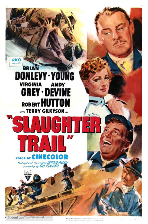 Slaughter Trail - Movie Poster