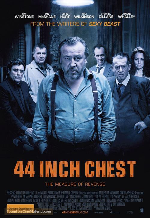 44 Inch Chest - Australian Movie Poster