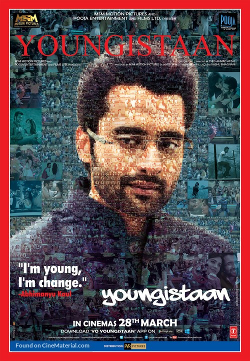Youngistaan - Indian Movie Poster