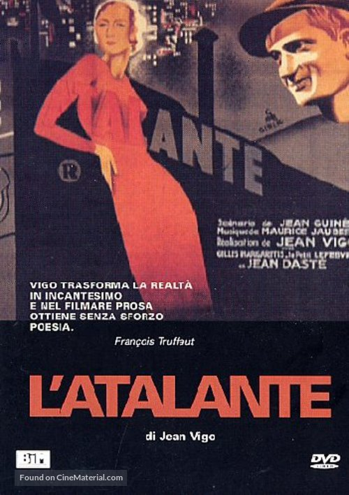 L'Atalante - Italian DVD movie cover