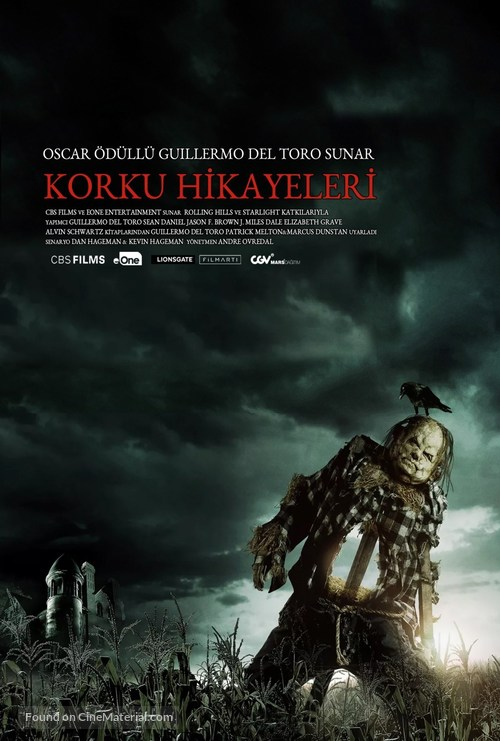 Scary Stories to Tell in the Dark - Turkish Movie Poster