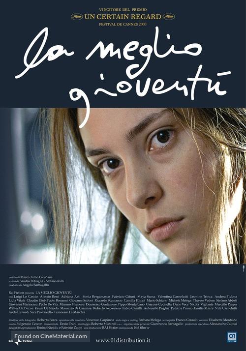 La meglio gioventù - Italian Movie Poster
