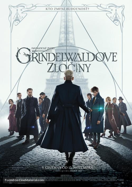 Fantastic Beasts: The Crimes of Grindelwald - Slovak Movie Poster