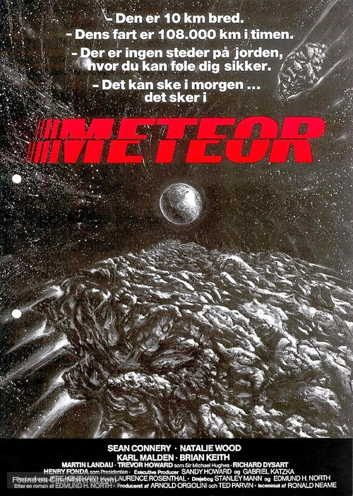 Meteor - Danish Movie Poster