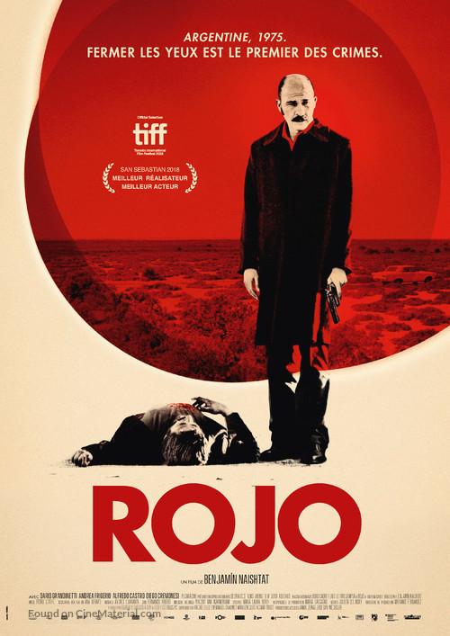 Rojo - Swiss Movie Poster