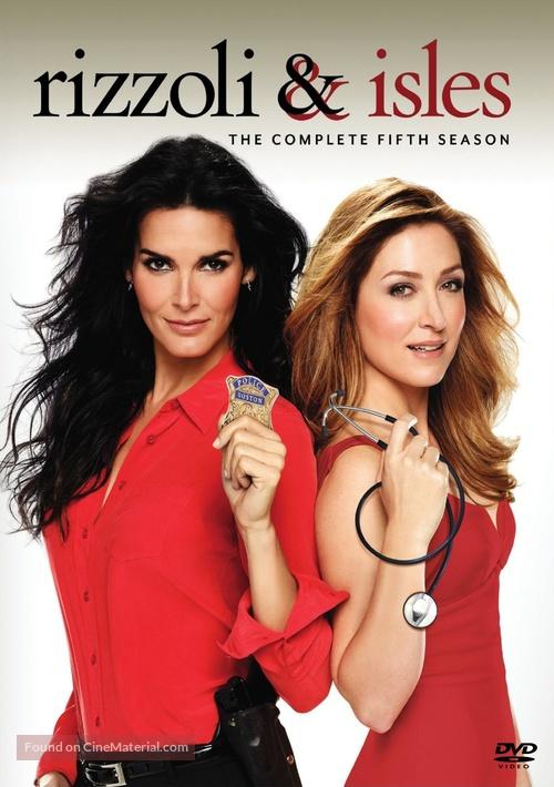 """Rizzoli & Isles"" - DVD cover"