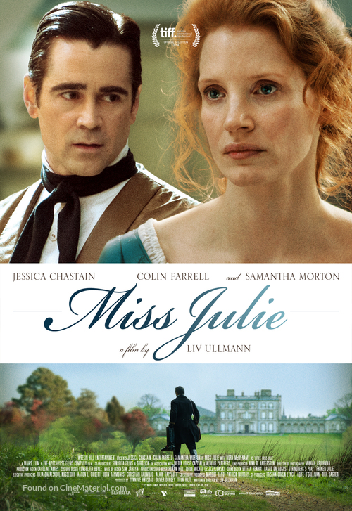 Miss Julie - Theatrical movie poster