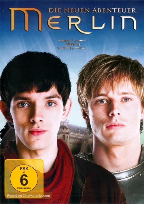 """""""Merlin"""" - German DVD cover"""
