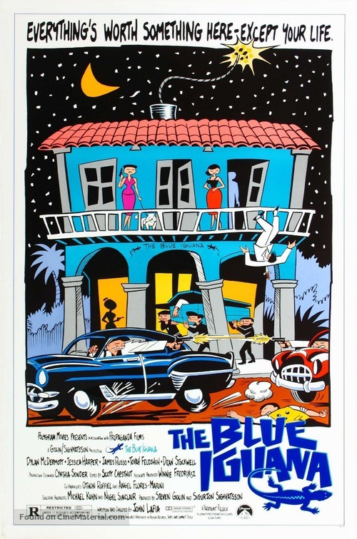 The Blue Iguana - Movie Poster