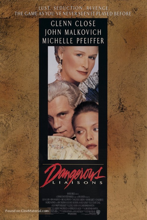 Dangerous Liaisons - Theatrical poster