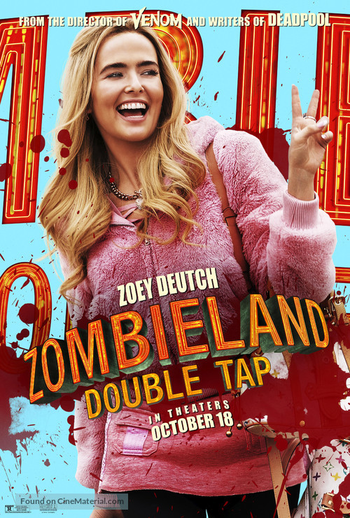 Zombieland: Double Tap - Movie Poster