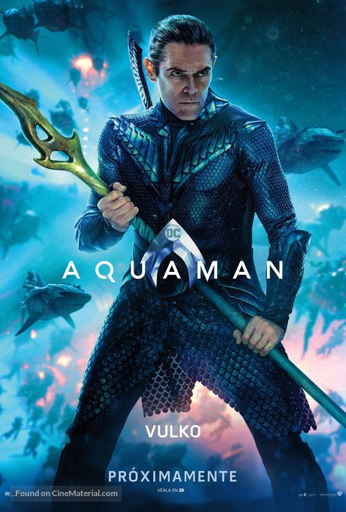 Aquaman - Mexican Movie Poster