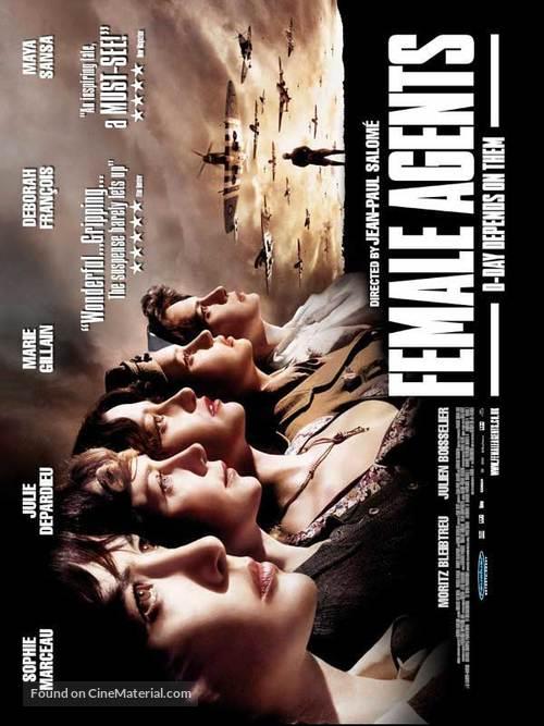 Les femmes de l'ombre - British Movie Poster