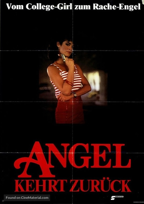 Avenging Angel - German Movie Poster