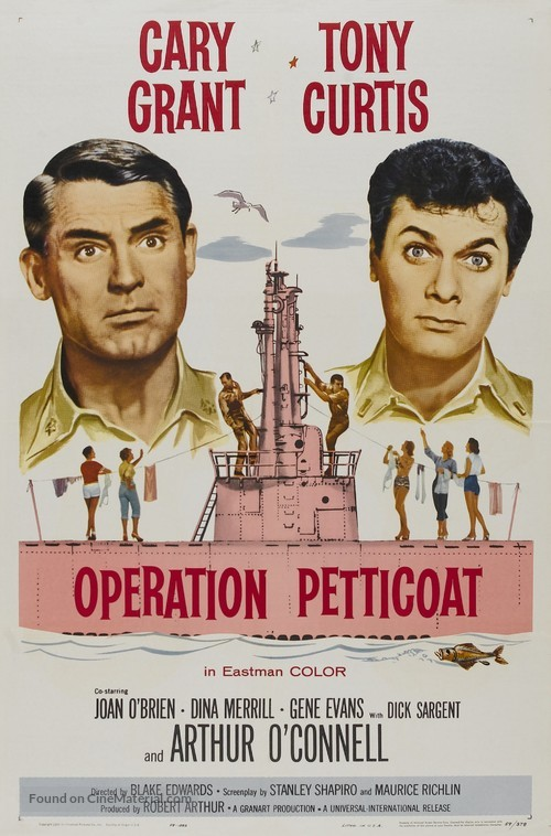 Operation Petticoat - Movie Poster