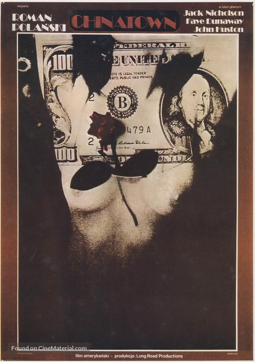 Chinatown - Polish Movie Poster