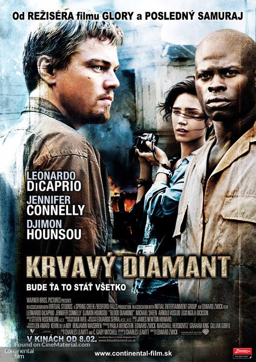 Blood Diamond - Slovak Movie Poster