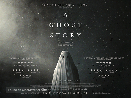 A Ghost Story - British Movie Poster