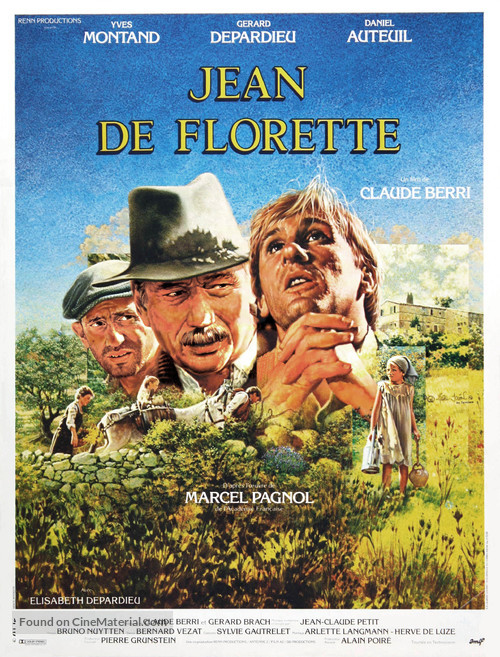 Jean de Florette - French Movie Poster