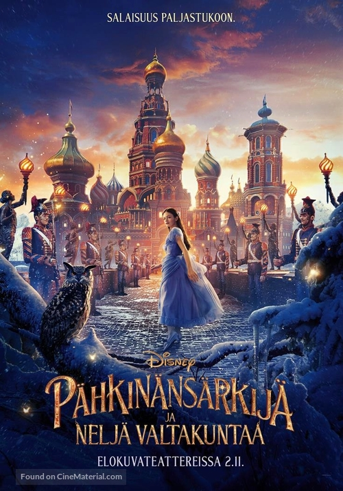 The Nutcracker and the Four Realms - Finnish Movie Poster