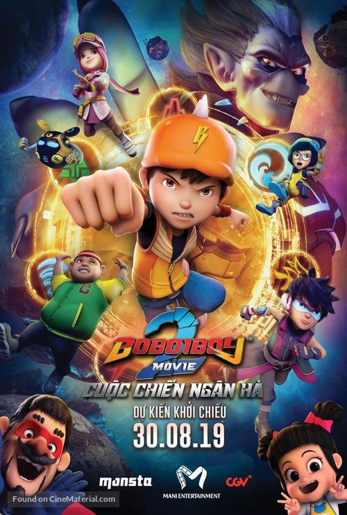 BoBoiBoy Movie 2 - Vietnamese Movie Poster