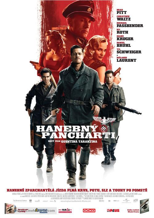 Inglourious Basterds - Czech Movie Poster
