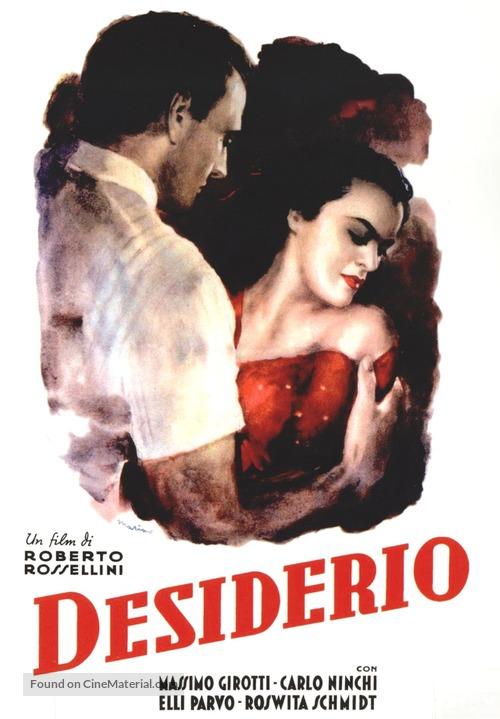 Desiderio - Italian Movie Poster
