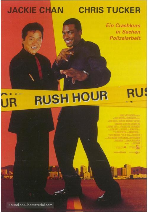 Rush Hour - German Movie Poster