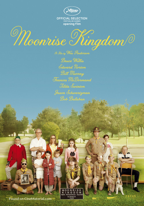 Moonrise Kingdom - Dutch Movie Poster