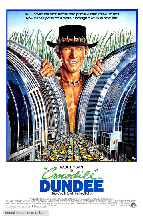 Crocodile Dundee - Movie Poster
