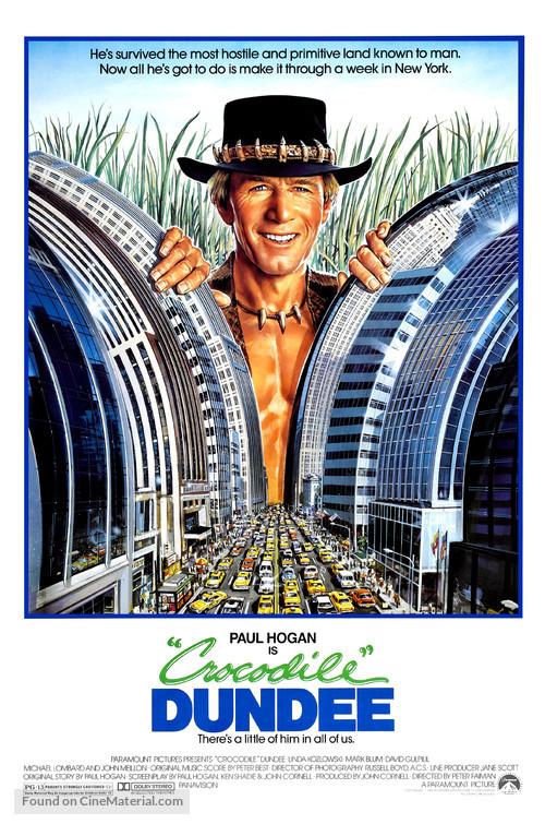 Crocodile Dundee - Movie Poster