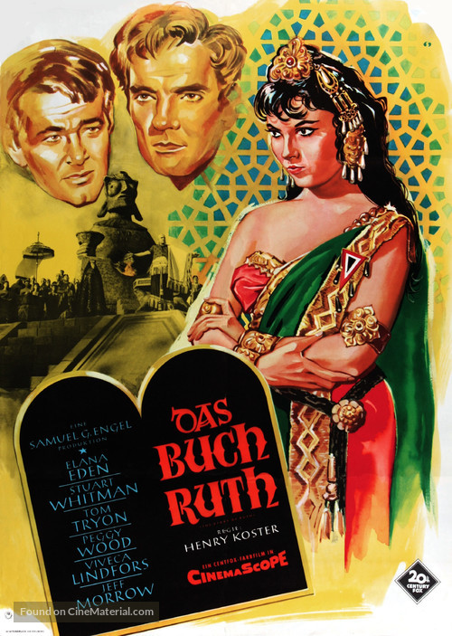 The Story of Ruth - German Movie Poster
