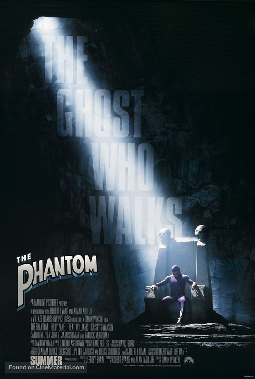 The Phantom - Movie Poster