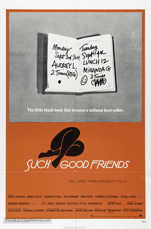 Such Good Friends - Movie Poster