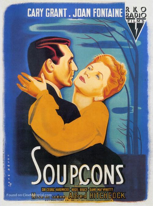 Suspicion - French Movie Poster