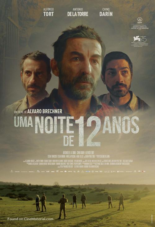 La noche de 12 años - Brazilian Movie Poster