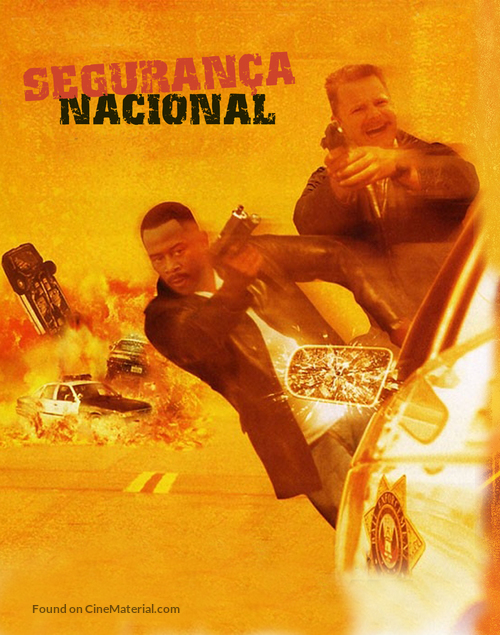 National Security - Brazilian Movie Poster