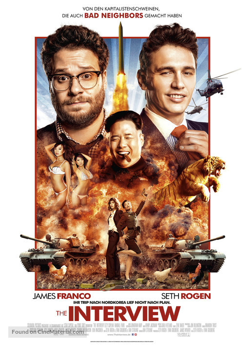 The Interview - German Movie Poster