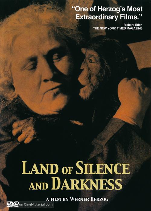 Land des Schweigens und der Dunkelheit - DVD cover