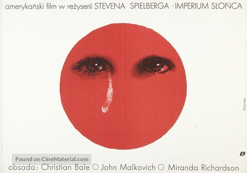 Empire Of The Sun - Polish Movie Poster