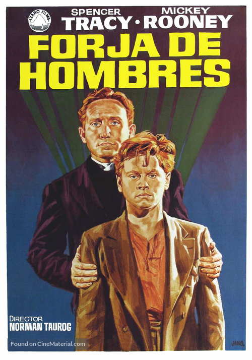 Boys Town - Spanish Movie Poster