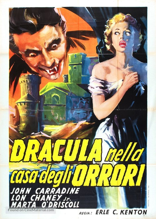 House of Dracula - Italian Movie Poster