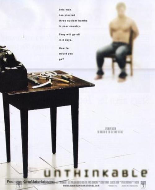 Unthinkable - Movie Poster