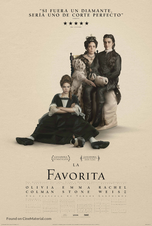 The Favourite - Mexican Movie Poster
