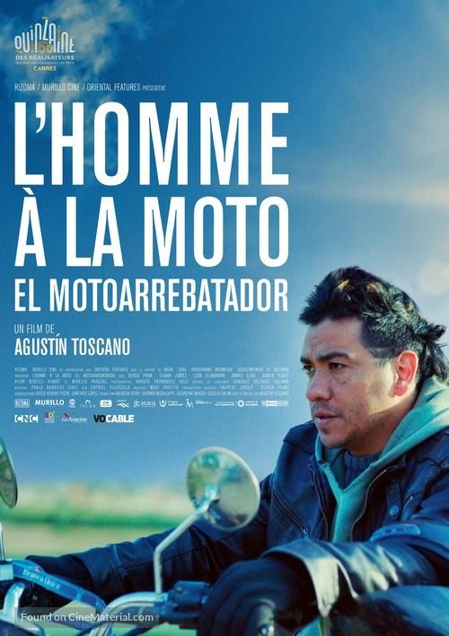 El Motoarrebatador - French Movie Poster